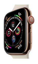 Apple watch V4 GPS+Cellular 40mm stainless steel Body